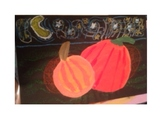 Pumpkin patch art