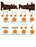 Pumpkin pumpkin sixteenth notes tibitibi tikatika