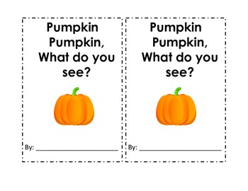 Pumpkin pumpkin, what do you see? The life cycle of a pumpkin.