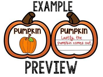 Pumpkin's Life cycle MOBILE