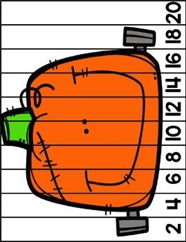 Pumpkin skip counting {Chinese}