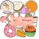 Pumpkin spice and everything nice! (Deerly Clipart)