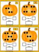 Pumpkin subitising task cards