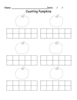 Pumpkin tens frames