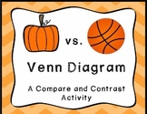 Pumpkin vs. Basketball Venn Diagram