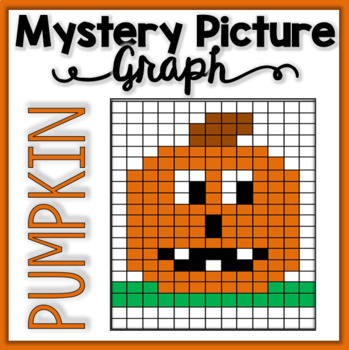Mystery Picture Graph - Pumpkin/Jack-O-Lantern