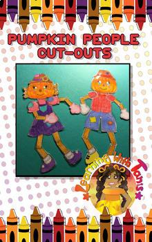 Pumpkin People Cutouts
