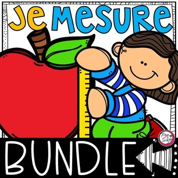 Pumpkin & Apple Math and Science BUNDLE in FRENCH