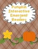 Pumpkin Interactive Emergent Readers