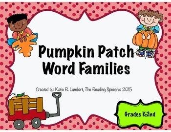 Pumpkin Patch Word Families
