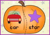Pumpkin Rhyming Match Puzzles