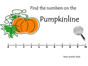 Pumpkinline an addition and subtraction game