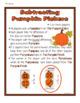 MATH CENTER: Pumpkinoes