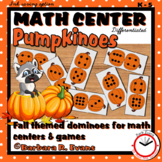MATH CENTER: Pumpkinoes