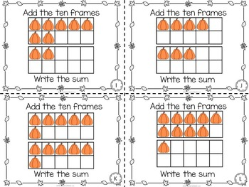 Pumpkins Printables for Literacy, Math, and Science