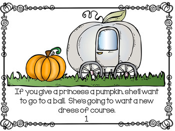 Fall Activities- Pumpkin Activity packet