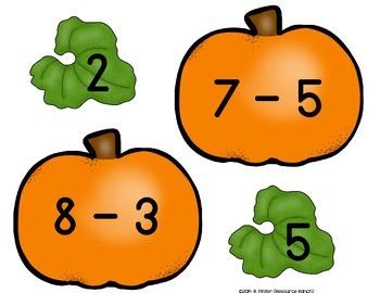 Pumpkin Subtraction Center