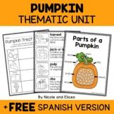 Pumpkin Activities Thematic Unit