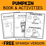 Mini Book and Activities - Pumpkins