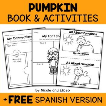 Pumpkin Book Activities