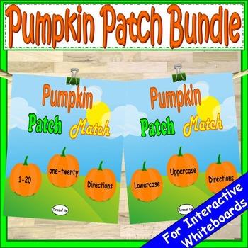 Pumpkins Bundle Kindergarten First Grade