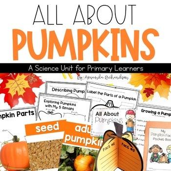 Pumpkins Unit: Pumpkin Life Cycle, Pumpkin Investigation, Craft and More