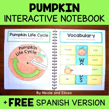 Interactive Notebook - Pumpkin Activities