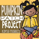 Pumpkins Project-Based Learning with Map Skills and Activities
