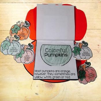 Pumpkins Interactive Book