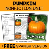Nonfiction Unit - Pumpkin Activities