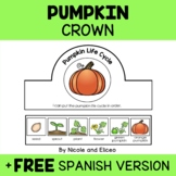 Pumpkin Life Cycle Activity Crown Craft
