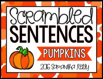 Pumpkins Station - Scrambled Sentences