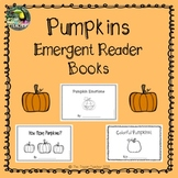 Pumpkins: 3 emergent reader books!