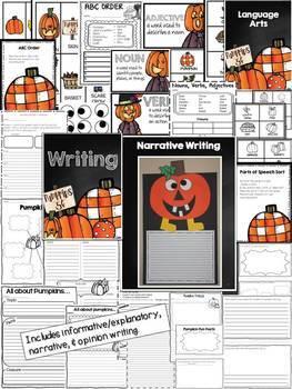 Pumpkins: A Literacy & Math Extravaganza