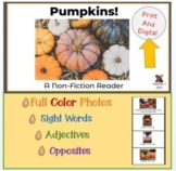 Pumpkins!  A Non Fiction Reader