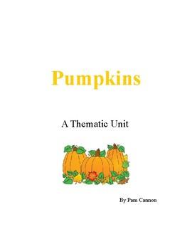 Pumpkins- A Thematic Unit