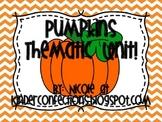 Pumpkins: A thematic Unit