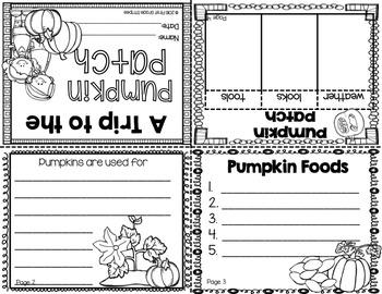 Pumpkins Activities (Fiction & Nonfiction)