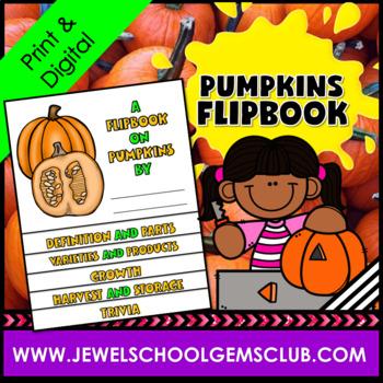 Pumpkins Activities ★ Pumpkins Unit ★ Pumpkins Flipbook ★