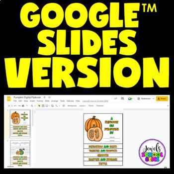 Pumpkins Science Activities (Pumpkins Flipbook)