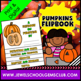 Pumpkins Science Activities (Pumpkins Flipbook)