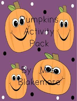 Pumpkins Activity Pack