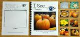 """Pumpkins Adapted Book: """"I See Pumpkins"""""""