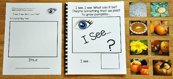 "Pumpkins Adapted Book: ""I See Pumpkins"""
