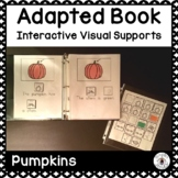 Pumpkins Adapted Book with Interactive Visuals