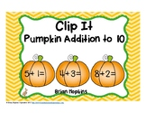 Pumpkins Addition to 10 Clip It