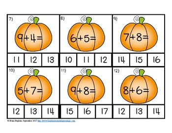 Pumpkins Addition to 20 Clip It