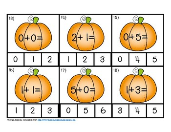 Pumpkins Addition to 5 Clip It