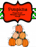 *FREE* Pumpkins! Adjectives & Song