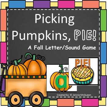 Pumpkins Alphabet Phonics Game